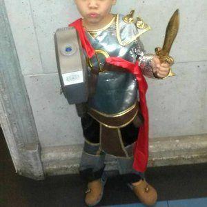 Thor Costume Disney Role Play Shirt Viking Avenger
